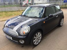 2007 Mini 1.6 Cooper 3dr Hatchback - CL505 - NO VAT ON THE HAMMER - Location: Corby,