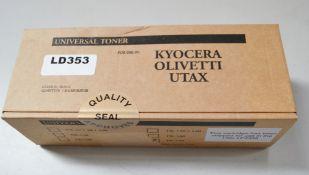 8 x Black Universal Toner's For Olivetti Utax TK170 - Ref: LD353 - CL409 - Altrincham WA14