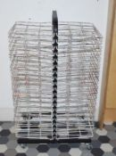 1 x Mobile Art Room Drying Rack - Twenty Tier Double Sided With 40 Sheet Capacity - Ref KP110 - CL48
