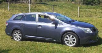 2009 Toyota Avensis 2.2 D4D TR 5Dr Estate - CL505 - NO VAT ON THE HAMMER - Location: