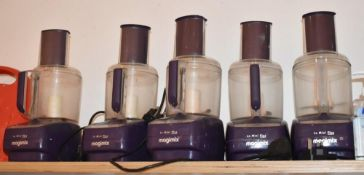 3 x Megamix Mini Plus Food Mixer With Accessories - Model 18240 - CL489 - Location: Putney,