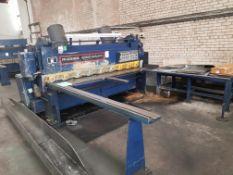 1 x Rhodes Cincinatti 2500 x 5mm Guillotene - Fully Serviced - Location: Birmingham