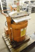1 x Orwak 5030 Waste Compactor - Used For Compacting Recyclable or Non-Recyclable Waste - Red