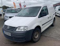 2005 Volkswagen Caddy 2.0 D C20 Panel Van- CL505 - NO VAT ON THE HAMMER - Location: Corby,