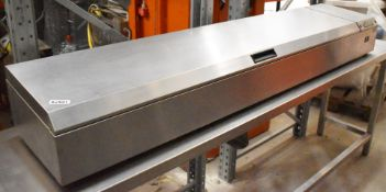 1 x Williams Saladette With Stainless Steel Finish - Can Be Used For Sandwhich Garnishes or Pizza