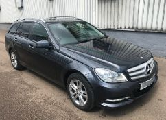 2013 Mercedes C220 Cdi Executive Se 5dr Estate - CL505 - NO VAT ON THE HAMMER - Location: Corby,