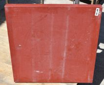 1 x Poly Cutting / Chopping Board - Size 61 x 61 x 5 cms - Good Condition - CL282 - Ref KP133