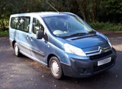 2009 Citroen Dispatch 2.0 Hdi 9 Seater Mini Bus - CL505 - NO VAT ON THE HAMMER - Location:
