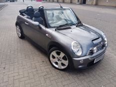 2005 Mini Cooper S 1.6 Convertible - CL505 - NO VAT ON THE HAMMER - Location: Corby,