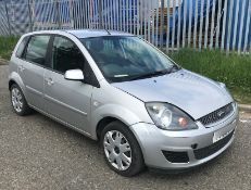 2008 Ford Fiesta 1.4 Tdci Zetec Climate - CL505 - NO VAT ON THE HAMMER - Location: Corby,