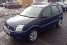 2003 Ford Fusion 1.4 TDCi 5 Dr Hatchback - CL505 - NO VAT ON THE HAMMER - Location: Corby,