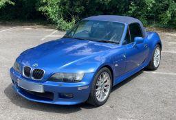 2002 BMW Z Series 3.0 Z3 Roadster Sport - 42700 miles - 1 Year MOT - NO VAT ON THE HAMMER -