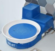 1 x Shimpo Aspire RK-5T Countertop Potters Wheel With Foot Pedal - CL489 - Location: Putney, London,