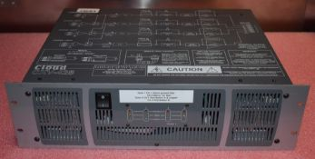 1 x Cloud CXV-425 Power Amplifier - 100v, 4x 250w, Transformer Less - Rackmount Unit 3U - CL409 -