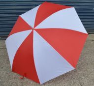 24 x Proline Golf Umbrellas - Colour: Red And White - Brand New Sealed Stock - Dimensions: Length