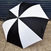 24 x Proline Golf Umbrellas - Colour: Black And White - Brand New Sealed Stock - Dimensions: