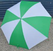 24 x Proline Golf Umbrellas - Colour: Emerald Green And White - Brand New Sealed Stock - Dimensions: