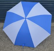 24 x Proline Golf Umbrellas - Colour: Light Blue And White - Brand New Sealed Stock - Dimensions: