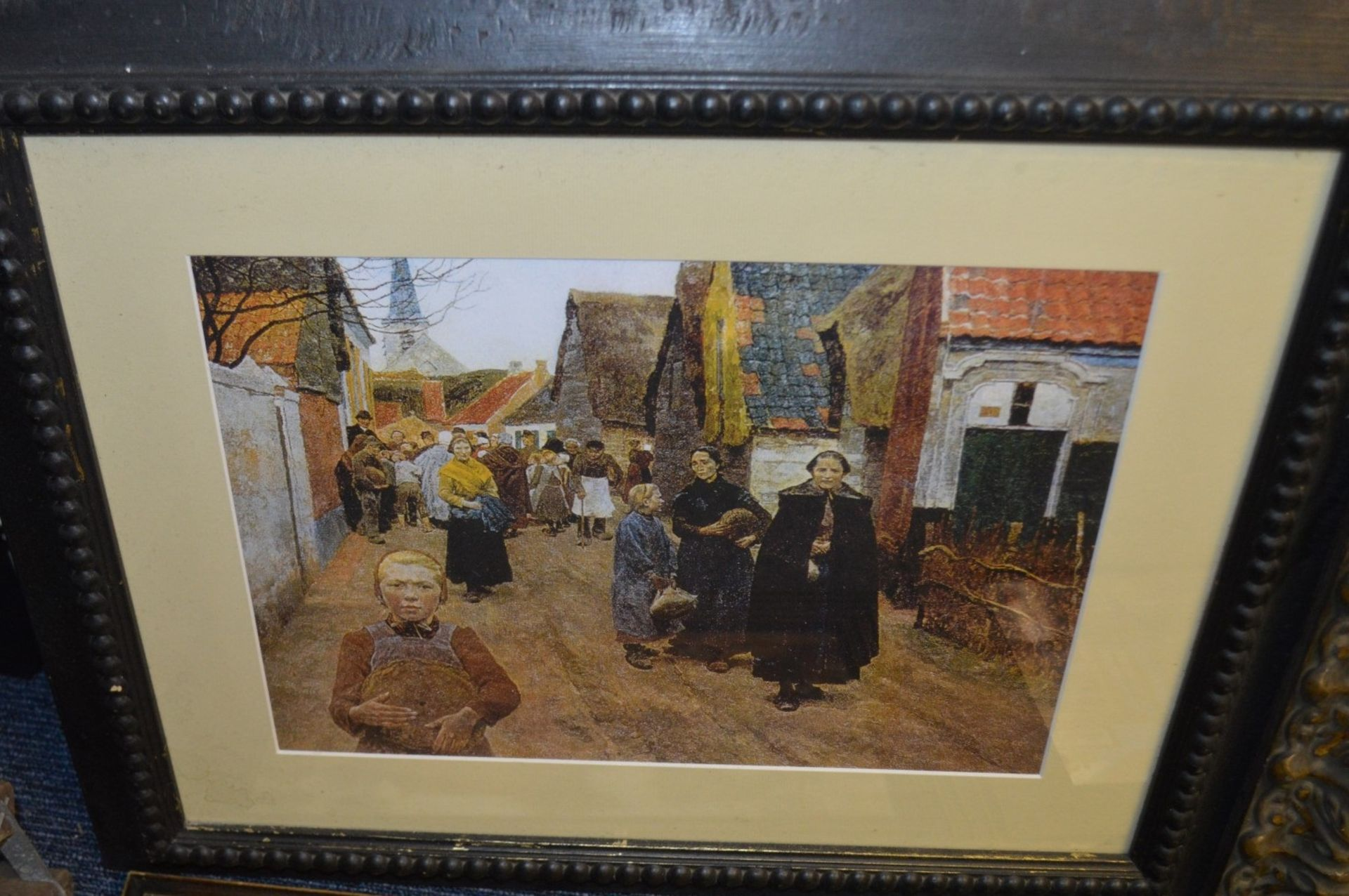 Lot 7506 - 6 x Assorted Framed Art Prints Based Around Bakery - Various Sizes, Largest Is 60 x 45cm - Ref: