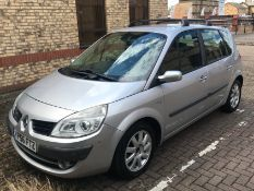 2006 Renault Scenic 1.6 VVT Dynamiq 5 Dr MPV - CL505 - NO VAT ON THE HAMMER - Location: Corby, Nort
