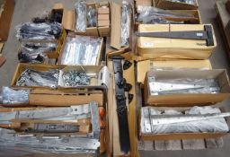 1 x Assorted Ironmongery Pallet Lot - Features Heavy Duty T Gates Hinges, Latches, Locks, Spring