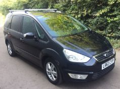2013 Ford Galaxy 2.0 TDCI Zetec 5 Door MPV - CL505 - NO VAT ON THE HAMMER - Location: Corby,