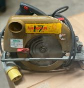 1 x Skill 110v Saw - Used, Recently Removed From A Working Site - CL505 - Ref: TL017 - Location: