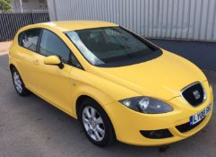 2008 Seat Leon 2.0 TDI Stylance 5 Door Hatchback - CL505 - NO VAT ON THE HAMMER - Location: Corby,