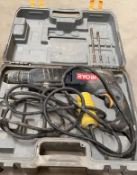 1 x Ryobi 110V Impact Drill - Used, Recently Removed From A Working Site - CL505 - Ref: TL027 -