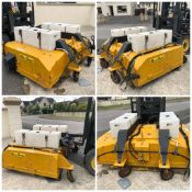 1 x MultiSweep Hydraulic Sweeper / Collector- CL505 - Location:Northern Ireland - UK-Wide Delivery