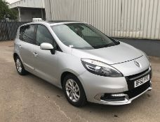 2012 Renault Scenic 1.5 Dci D-Que Tt Energy 5 Dr MPV - CL505 - NO VAT ON THE HAMMER - Location: Cor