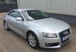 2010 Audi A5 2.0 TDI SE 2 Dr Coupe - NO VAT ON THE HAMMER - Location: Corby