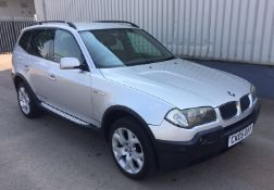 2005 BMW X3 3.0 Sport Auto 5 Dr 4x4 - CL505 - NO VAT ON THE HAMMER - Location: Corby, Northamptonshi