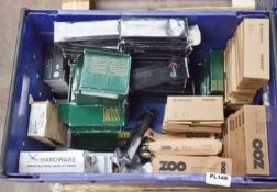 Approximately 90 x Assorted Boxes of Hinges - Brands Include Carlisle Brass, Zoo, Enduro and Eclipse