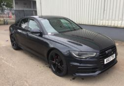 2013 AUDI A6 2.0 TDI S LINE BLACK EDITION 4 DR SALOON - CL505 - NO VAT ON THE