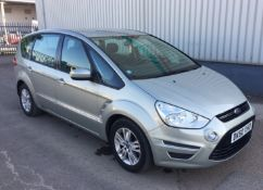 2010 Ford Smax 2.0 TDCI Zetec 5 Door MPV - CL505 - NO VAT ON THE HAMMER - Location: Corby,