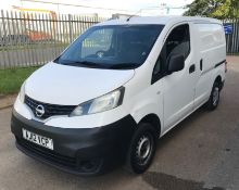 2012 Nissan Nv200 1.5 Dci Se Panel - CL505 - NO VAT ON THE HAMMER - Location: Corby,
