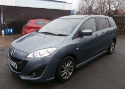 2013 Mazda 5 2.0 Venture Edition 5 Dr MPV - CL505 - NO VAT ON THE HAMMER - Location: Corby, N