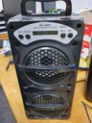 1 x MS-146BT Mobile Stereo Speaker System With Bluetooth Connectivty - Ref: JW - CL999 - Location: