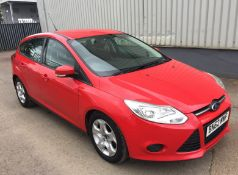 2012 Ford Focus 1.6 TDCi Edge 5 Door Hatchback - CL505 - NO VAT ON THE HAMMER - Location: Corby,