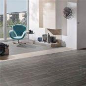 12 x Boxes of RAK Porcelain Floor or Wall Tiles - Dolomite Black - 20 x 50 cm Tiles Covering a Total