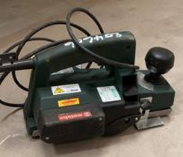 1 x Metabo 110V Planer - Used, Recently Removed From A Working Site - CL505 - Ref: TL018 - Location: