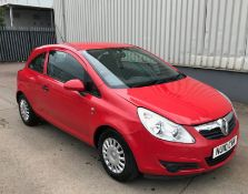 2010 Vauxhall Corsa 1.0 S Ecoflex 3 Dr Hatchback - CL505 - NO VAT ON THE HAMMER - Location: Corby,