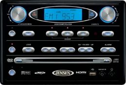 1 x Jenson AWM975 Entertainment System - Features DVD Player, CD, MP3, USB, HDMI Out, FM/AM Radio