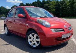 2005 Nissan Micra 1.2 Urbis 5Dr Hatchback - CL505 - NO VAT ON THE HAMMER - Location: Corby,