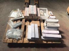 1 x Assorted Pallet Job Lot - Includes Shelving Brackets and Related Shelving Items - Includes