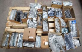 1 x Assorted Ironmongery Pallet Lot - Features Locks, Hooks, Handles, Gate Latches, Fence Panel