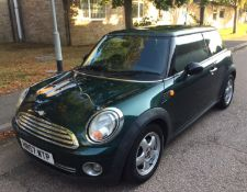 2007 Mini One 1.4 3Dr Hatchback - CL505 - NO VAT ON THE HAMMER - Location: Corby, Northamptonshire<b