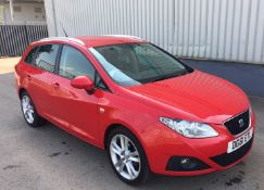 2011 Seat Ibiza 1.2 Tsi Sportrider 5 Dr Estate - CL505 - NO VAT ON THE HAMMER - Location: Corby, Nor