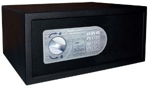 1 x Omnitec Safeguard Security Safe With Keypad Opening - Model Laptop 15 - Size H20 x W43 x D35 cms